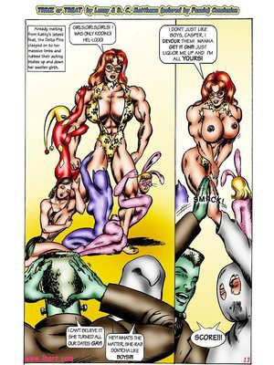 8muses Adult Comics [David C. Matthews] Trick Or Treat image 12