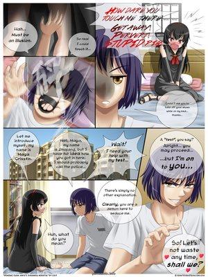 8muses Hentai-Manga Demonic Exam- Maya Shrunken Mortal image 08