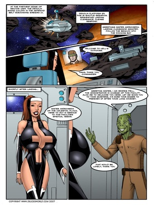 DeucesWorld- Astro Nun 8muses Porncomics