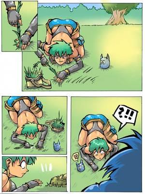 Dragon Ball Z- GELUS 8muses Hentai-Manga