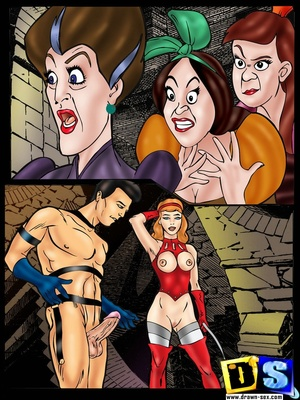 8muses Adult Comics Drawn sex – Rough Cinderella image 05