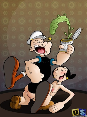 Drawn Sex- Popeye and Olive Oyl 8muses Adult Comics