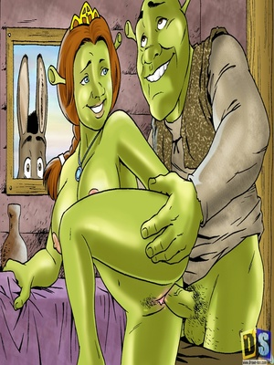 8muses Cartoon Comics Drawn Sex- Shreku2019s Dreamland image 06