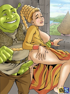 8muses Cartoon Comics Drawn Sex- Shreku2019s Dreamland image 07