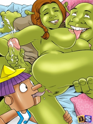 8muses Cartoon Comics Drawn Sex- Shreku2019s Dreamland image 10
