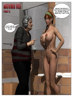 8muses 3D Porn Comics Dubh3d – Moving Red Issue 2 image 01