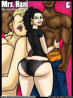 Duke- Mrs. Hani 6 -Big Ass Lebanese Teacher 8muses Interracial Comics
