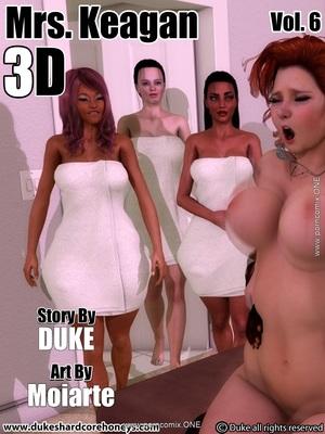 DukesHardcore- Mrs. Keagan 3d Vol.6 8muses 3D Porn Comics