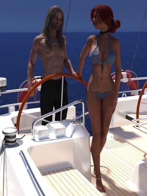 Eclesi4stik- Triss's Summer 8muses 3D Porn Comics