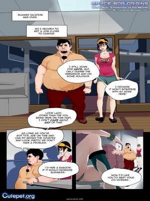 Employee of the Month- Cutepet 8muses Adult Comics