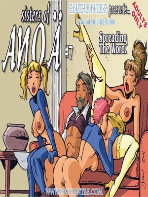 Enchantae- Sisters of Anoa 7-8 8muses Adult Comics