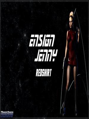 EnsignJenny3D- RedShirt 8muses 3D Porn Comics