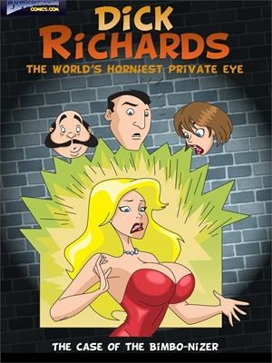 ExpansionFan- Dick Richards- Private Eye 1 8muses Porncomics