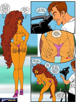 ExpansionFan- The Busty Model 8muses Adult Comics