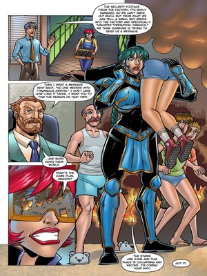 8muses Adult Comics ExpansionFan- The Cleavage Crusader #2 image 07