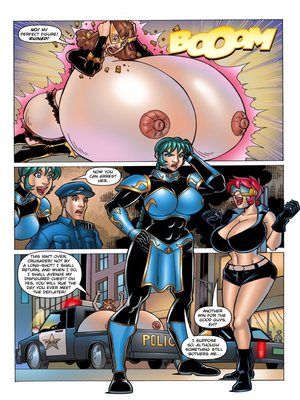 8muses Adult Comics ExpansionFan- The Cleavage Crusader #2 image 16