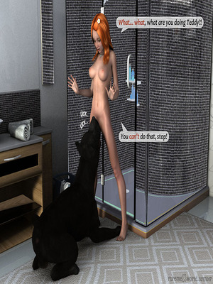 8muses Adult Comics ExtremeXworld – First time with Teddy image 33