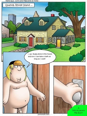 Family Guy- Chris and Meg Alone at Home 8muses Incest Comics