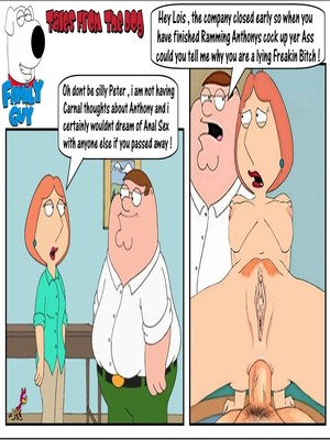 Family Guy- Tales from Dog 8muses Incest Comics