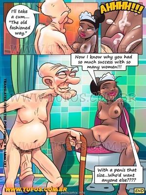 8muses Incest Comics Family Sacana 7 – Giving Grandpa a Bath image 09