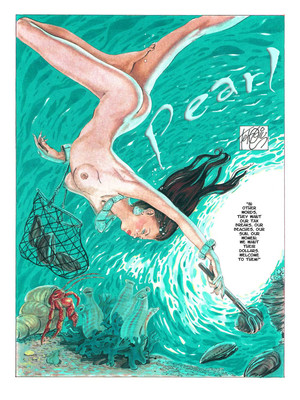 8muses Adult Comics Ferocius – Pearl #1 image 02