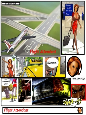 8muses Interracial Comics Flight Attendant- Black jocks huge cocks image 02