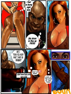 8muses Interracial Comics Flight Attendant- Black jocks huge cocks image 04