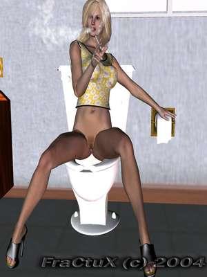 Fractux- Fun In The Bathroom 8muses 3D Porn Comics