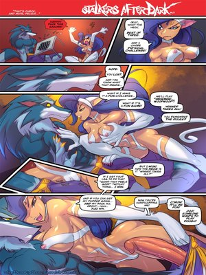 Fred Perry- DarkStalkers Afterdark 8muses Furry Comics