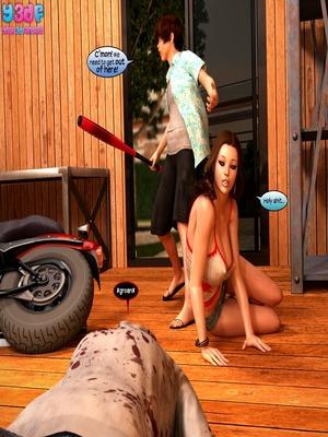 8muses Y3DF Comics Fucking Dead 3- Y3DF image 20
