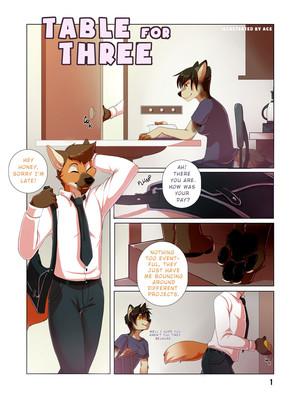 Furry Bi- Table for Three 8muses Adult Comics