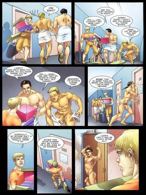 8muses Porncomics Gay-The Initiation Higher sex education image 04