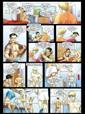8muses Porncomics Gay-The Initiation Higher sex education image 05