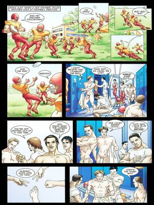 8muses Porncomics Gay-The Initiation Higher sex education image 06