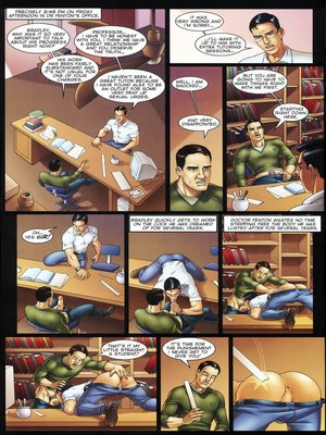 8muses Porncomics Gay-The Initiation Higher sex education image 16