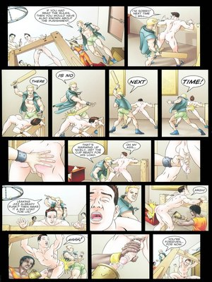 8muses Porncomics Gay-The Initiation Higher sex education image 21