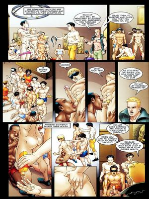 8muses Porncomics Gay-The Initiation Higher sex education image 22
