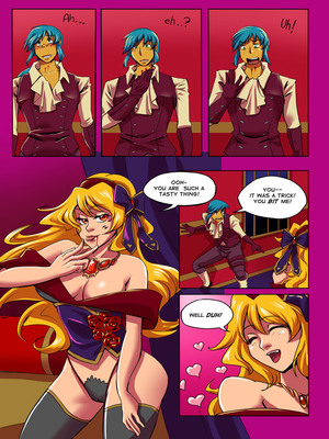 8muses Adult Comics [GlanceReviver] Rose Slayer- Heroic Sacrifice image 13