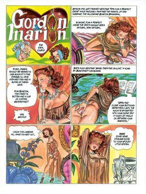 Gordon & Marion- Ferocius 8muses Adult Comics