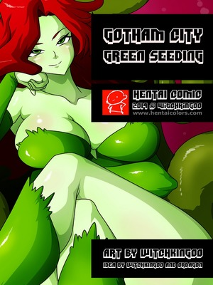 Gotham City- Green Seeding (WitchKing00) 8muses Hentai-Manga