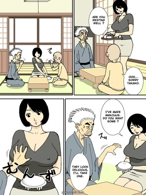 8muses Hentai-Manga Grandfather and Big-Breasted Bride image 22