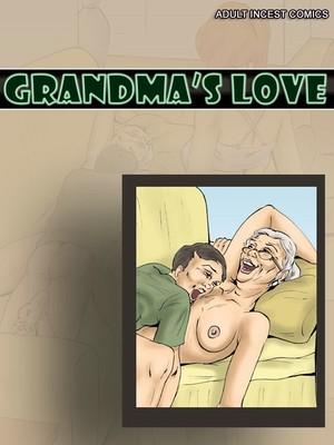 Grandma Love- Incest 8muses Adult Comics