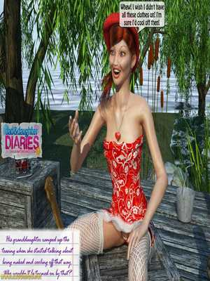 8muses 3D Porn Comics Grandpa + Granddaughter 03 image 06