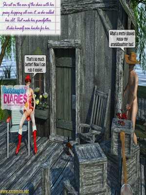 8muses 3D Porn Comics Grandpa + Granddaughter 03 image 16