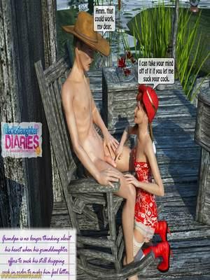 8muses 3D Porn Comics Grandpa + Granddaughter 03 image 24