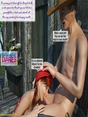8muses 3D Porn Comics Grandpa + Granddaughter 03 image 26