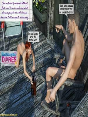 8muses 3D Porn Comics Grandpa + Granddaughter 03 image 47