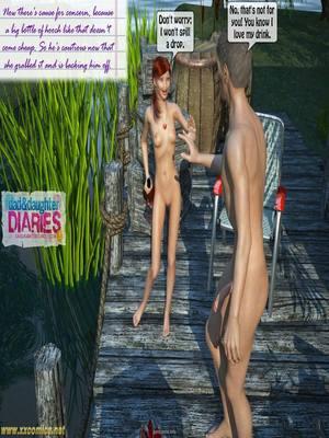 8muses 3D Porn Comics Grandpa + Granddaughter 03 image 48