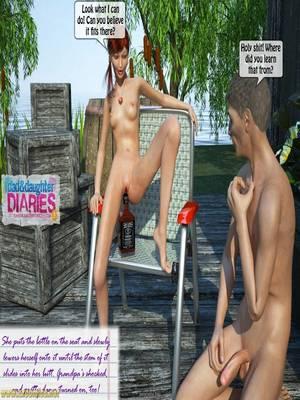 8muses 3D Porn Comics Grandpa + Granddaughter 03 image 49