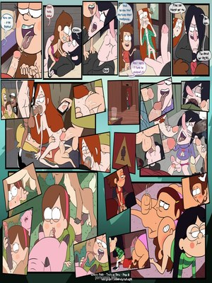 8muses Adult Comics Gravity falls- Truth or dare image 07